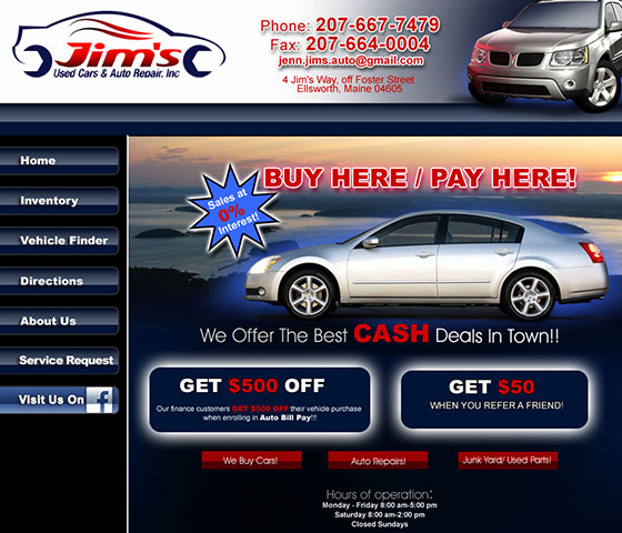 Jim's Used Cars