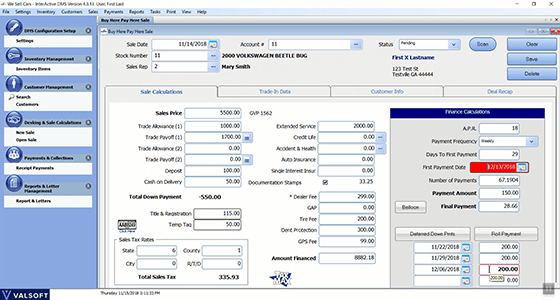 Vehicle Inventory Management Software