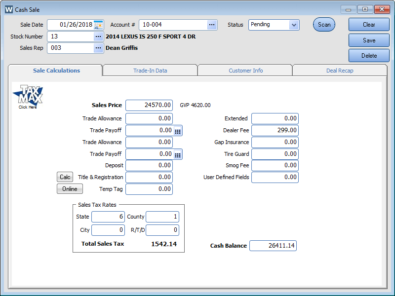 Vehicle Inventory Management System