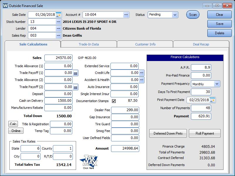 Car Dealer Management Software