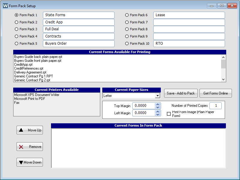 Car Inventory Software