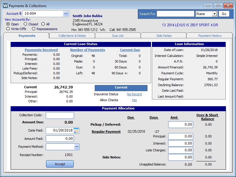 Car Inventory Management Software